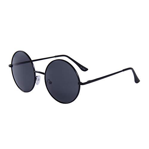 Junecat Antike Männer Frauen Runde Dekorative Brillen Metall-Rahmen Vintage Unisex-Legierung Brillenfassungen