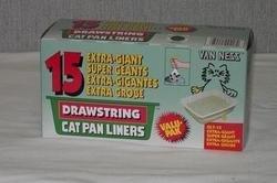 Van Ness Plastic Molding–Kordel Cat Pan Liner Pack x-g-ant-16–DL7–15 (Cat Pan Liners)
