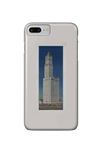 woolworth-building-new-york-vintage-poster-usa-c-1913-iphone-7-plus-cell-phone-case-slim-barely-ther