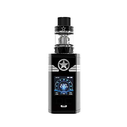Vaptio CAPT\'N Kit 220W Elektronische Zigaretten Ohne Nikotin und Tabak frei (schwarz-1)