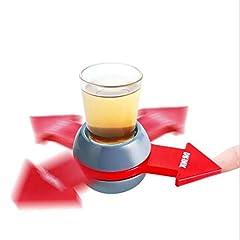 Idea Regalo - LAIMALA Drinking Game Spinner Shot Gioco della Bottiglia Party Adulti