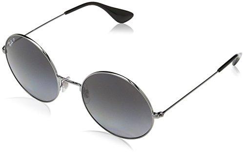 Ray-Ban RAYBAN Damen Sonnenbrille 3592 Gunmetal/Lightgreygradientgrey-Pol 55