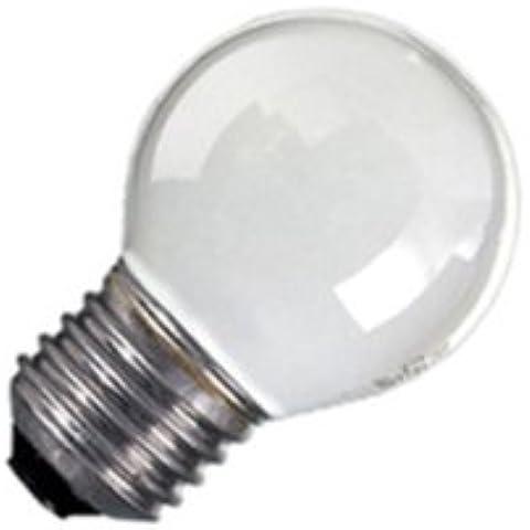 LAMPADA INCANDESCENZA SFERA SMERIGLIATA E27