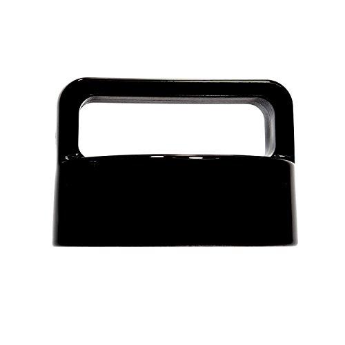 amapodo Ersatz-Deckel Verschluss schwarz für Trinkflasche, Glasflasche, Teekanne