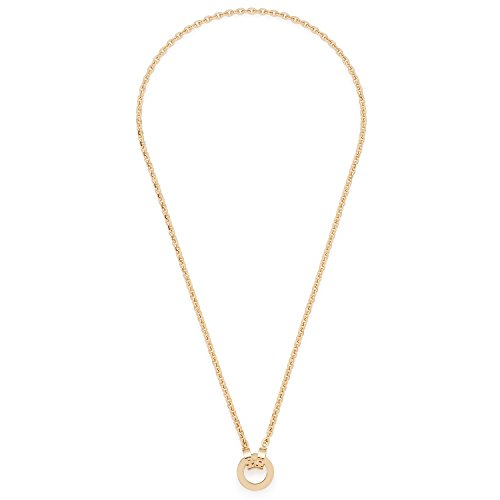 Leonardo Jewels Damen-Erbskette Darlin\'s Piccola Gold Edelstahl Glas 43 cm - 015903