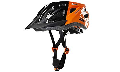 KTM Helm Factory Line Youth schwarz/orange Gr. 51-56 inkl. Key Holder (8-011)