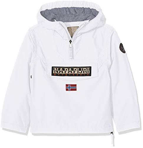 Napapijri Jungen Jacke Rainforest Winter, Weiß (Bright White 002), 152 (Herstellergröße: 1 Preisvergleich
