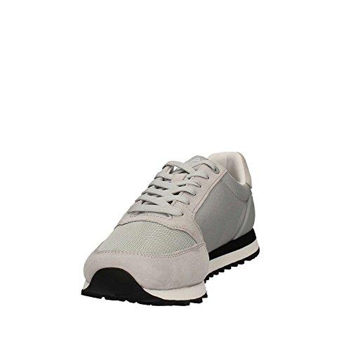 Con Armani Emporio Gris Logo Ea7 Sneakers Owt4n46gqA