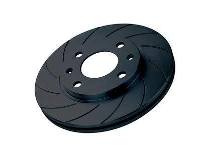 Black Diamond K511G12  Bremsscheiben, 2-Set, Set of 2 (89 Honda Accord Bremsscheiben)