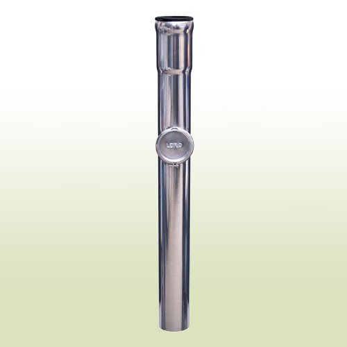 fallrohr verzinkt LORO Standrohr mit Reinigung DN100 Länge 1000 mm verzinkt