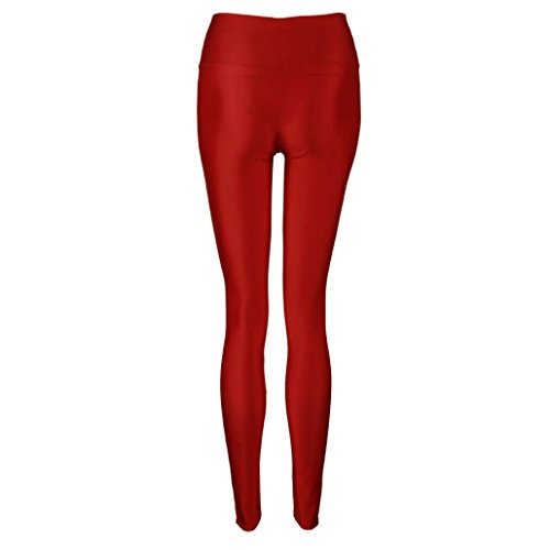 koly-donne-lucido-vita-alta-elastico-colori-della-caramella-di-danza-leggings-pants-s-rosso