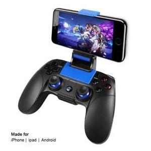 Wireless Gamecontroller,PowerLead Drahtloses Handy Gamepad,Tragbarer Joystick-Griff für mobile Spiele für Android IOS