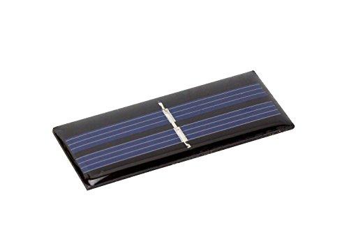 1V 45mA 55x22cm Polykristallin Epoxid Solarzelle Solar modul Solarpanel f. Arduino DIY