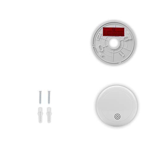 Smartwares 10-Jahres-VDS-Rauchmelder mit Lithium Batterie, weiß, RM218 - 14