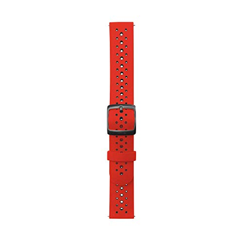 Withings Unisex's Two-Coloured Silicone Sport Wristband, Red, 40mm