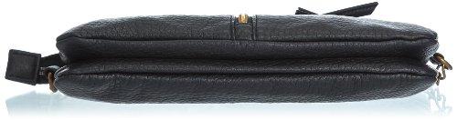 Womens Damini Purse Backpack black Schwarz - Schwarz (Black)