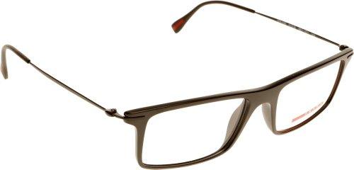 prada sport ps 03ev 1bo1o1 montatura per occhiale da vista eyeglasses man uomo homme