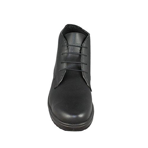 Aimont marie berufsschuhe businessschuhe chaussures de sécurité s1 chaussures de trekking (noir) Noir - Noir