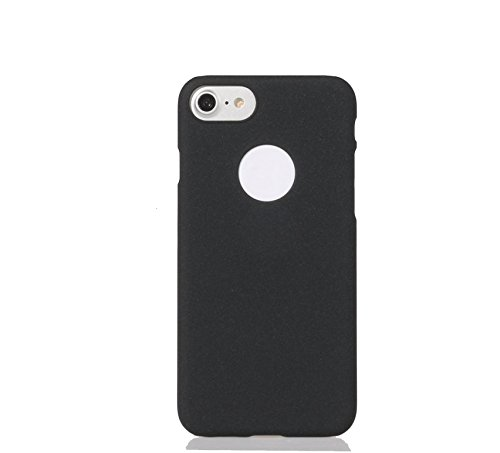 ARTILVST iphone 7 Custodia,Ultra sottile Metà struttura circondata Sand superficie opaca cassa durevole PC del phone case/cover/custodia für iphone 7 [nero] nero