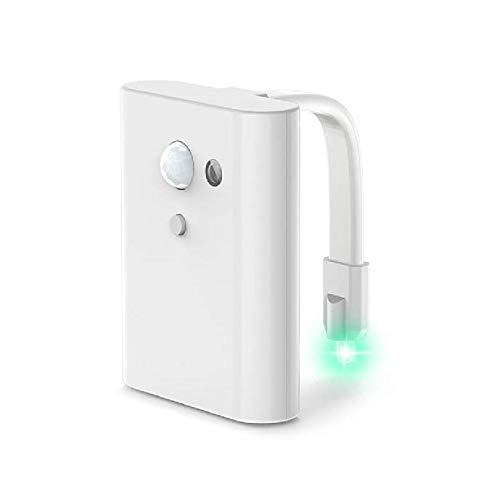 Qiaobaba Creative Toilette Nachtlicht-Led Motion Light Induction Lampe Multi-Color-Mode Energie-Sparen und Umweltschutz (Motion-lampe Creative)