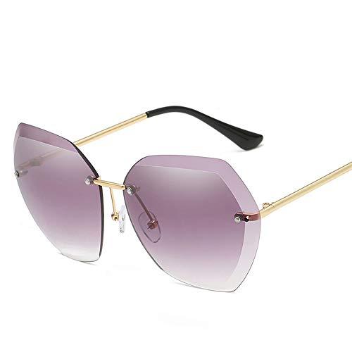DIYOO Sonnenbrille Frauen männer Unisex Mode Farbverlauf Sonnenbrille klassischen ton Spiegel objektiv Brille Reise Sonnenbrille lila