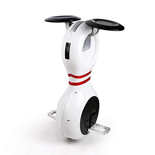 PAUL&F Monociclo Electrico,Asiento De Viaje Inteligente,Bluetooth Estéreo,Asiento Y Tobillo Plegables,Puede Viajar hasta 10 Kilómetros,Completamente Cargado En Una Hora