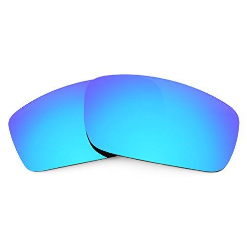 Revant Ersatzlinsen für Oakley Square Wire New (2006) Eisblau MirrorShield®
