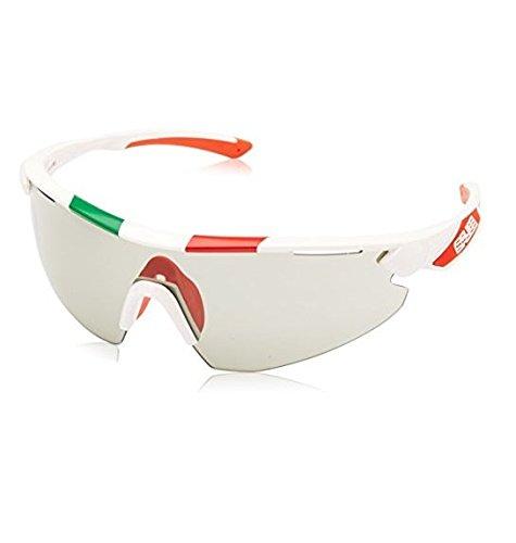 Salice 012ita crx - occhiali fotocromatici fumé, bianco (bianco italia)