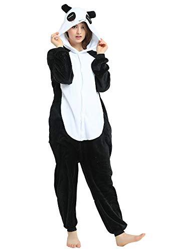 SMITHROAD Jumpsuit Tier Karton Fasching Halloween Kostüm Sleepsuit Cosplay Fleece-Overall Pyjama Schlafanzug Erwachsene Unisex Nachtwäsche (M, Blau Monster)