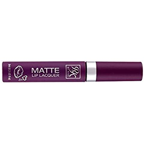 Ruby Kisses Matte Lip Lacquer Vivid Bold Lip Color Stain Lipstick Creamy Gloss (RML01 Queen) by Ruby Kisses
