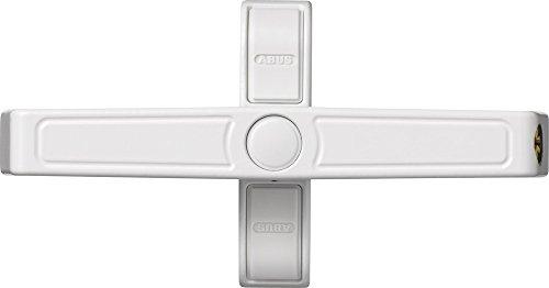 ABUS Fenster-Zusatzschloss 2520 für Doppelflügelfenster, gleichschließend, weiß, 31757