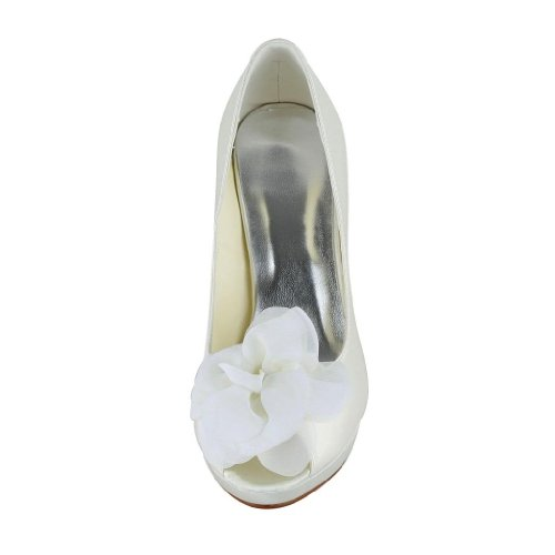 Jia Jia Wedding 37012H Scarpe Sposa Scarpe col tacco donna Beige