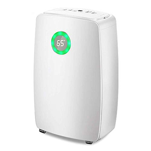 31AcM65oySL. SS500  - Dsnmm Dehumidifier Energy-saving And Efficient Purification Air Touch Panel Large-capacity Water Tank Quick Drying Clothes Full Of Water (Color : White)