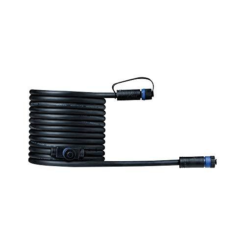 Paulmann 939.27 Outdoor Plug & Shine Connector 5m 1in-2out IP68 2x1,5mm² 93927 Verlängerungskabel Verbindungskabel Aussenbeleuchtung -
