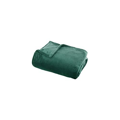 AC-Déco–Manta Uni Verde–Flanel–L