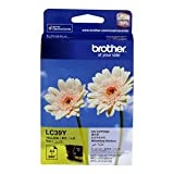 BROTHER COLOR INKJET YELLOW CARTRIDGE LC 39 Y
