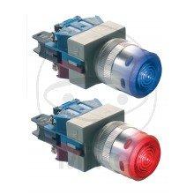 Interruttore di pressione-256.02.58-Blu rossi tappo-Foliatec® Motorino di avviamento Interruttore di pressione, interazione con relè per avviamento motore