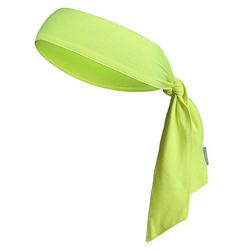 Sport-Stirnband für Frauen und Männer - Non-Slip-Stirnband Sweatband Head Krawatten Ideal zum Laufen, Ausarbeiten, Tennis, Karate, Volleyball & Performance Stretch & Moisture Wicking