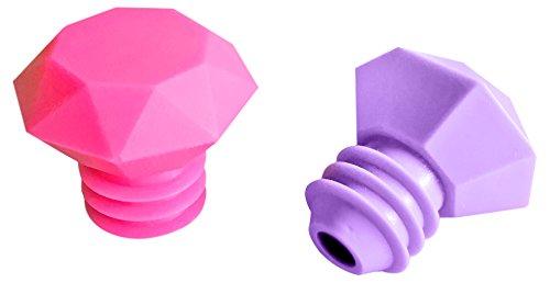 outlook-design-italia-diamond-juego-de-2-tapones-silicona-multicolor-145-x-38-x-49-cm