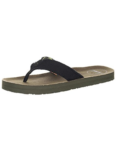 Animal Cruz Flip Flops. Indigo Blau oder Olivgrün. UK 8–13 (Cruz-flip-flops)