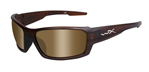 Wiley X Schutzbrille Rebel aus der Active Kollektion, Matt Braun (Schildpatt), M-L, ACREB04