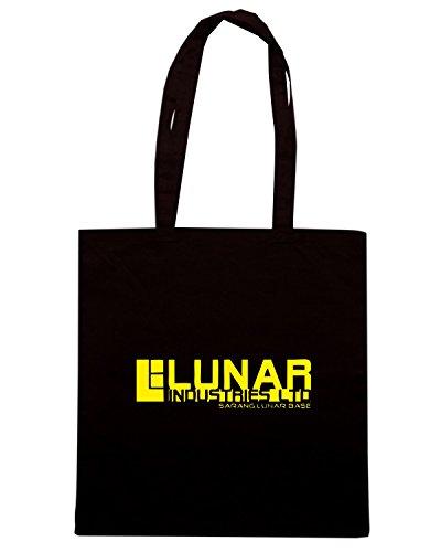 T-Shirtshock - Borsa Shopping TGAM0051 Lunar Industries Nero