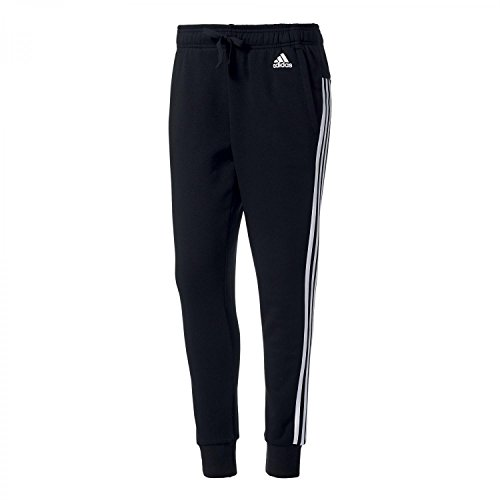 Adidas-Pantaloni sportivi Essentials 3S Pantaloni Tap, Donna, Präsentationshose Essentials 3S Tap, Black/White, S