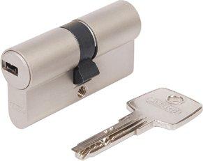 Cylindre de serrure profilé eC 550 avec fonction débrayable emballé sous carton 35/50