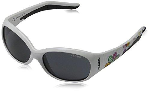 ALPINA Kinder Sonnenbrille Line Flexxy Outdoorsport-Brille, White Flower, One Size