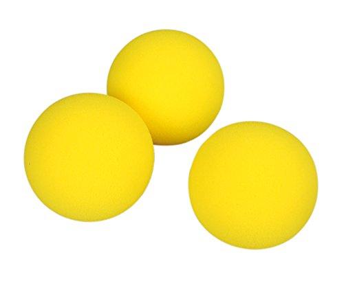Ersatzbälle zum Family-Tennis, 3 Stück - Tennis Tenniszubehör Tennisbälle Outdoor Sportunterricht Sport Kiga Kita Schule Schulunterricht