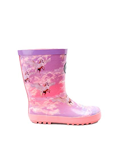 Hype Girls Junior Unicorn Wellies Pink