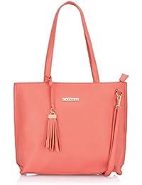 Caprese  Women Tote Bag (Soft Coral)(TENICMDSCL)