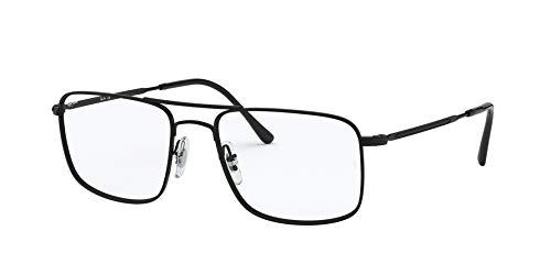 Ray-Ban Herren 0RX6434 Brillengestelle, Braun (Black), 55.0