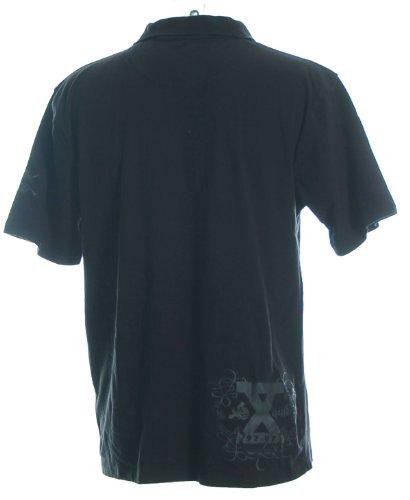 Cliché Herren Poloshirt Polo T-Shirt Schwarz